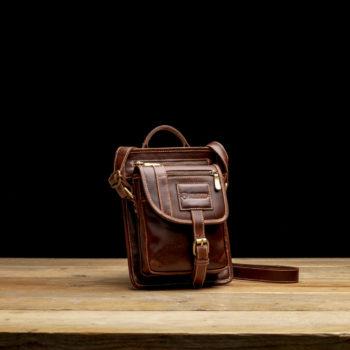 Leather bag Graziozo