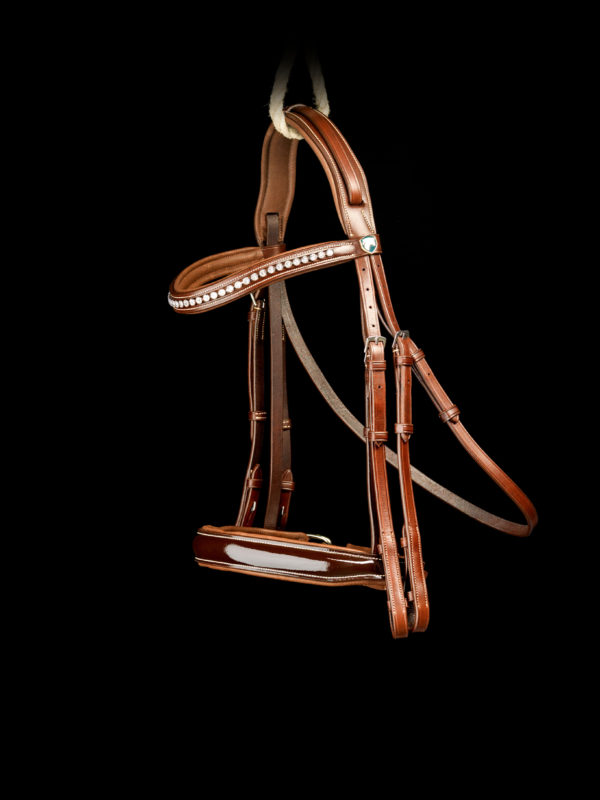 Graziozo Bridle Bellagio Brown GRA-400003