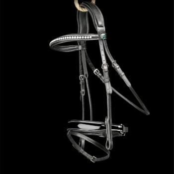 Graziozo Bridle Riva Black GRA-400070
